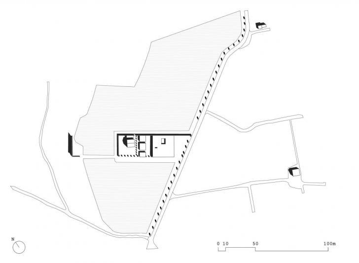 Plan masse Vauvert Nunes Antoine-Frédéric